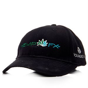 Picture of Hemp FX™ logo Hat - Black